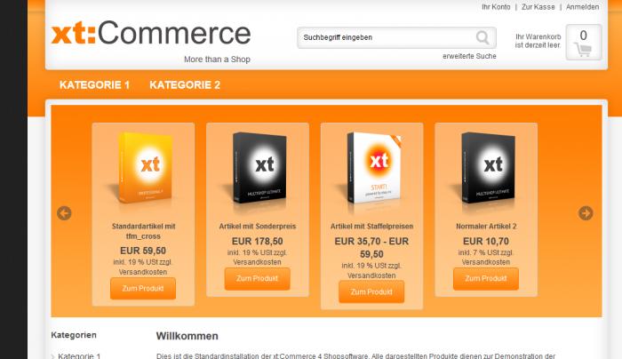 xt:Commerce Plugin xSlider