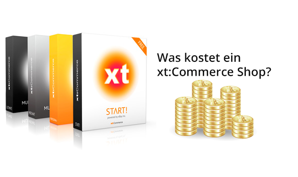 Was kostet ein xt:Commerce Shop?