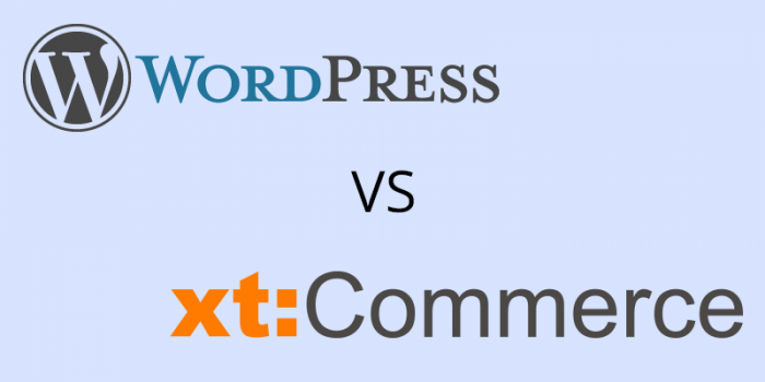 Wordpress oder xt:Commerce Blog?